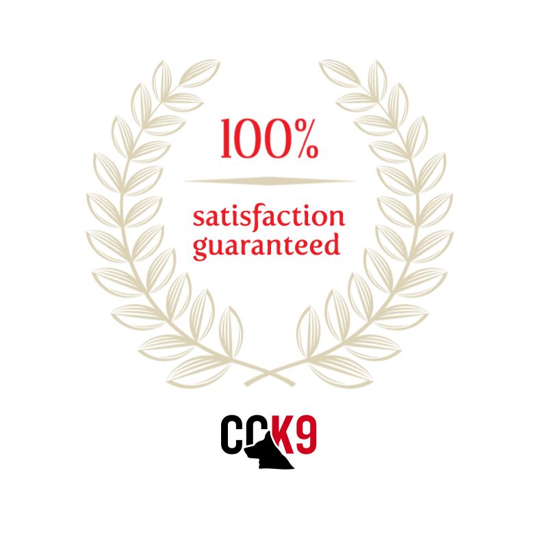 CCK9 Guarantee Satisfaction Seal